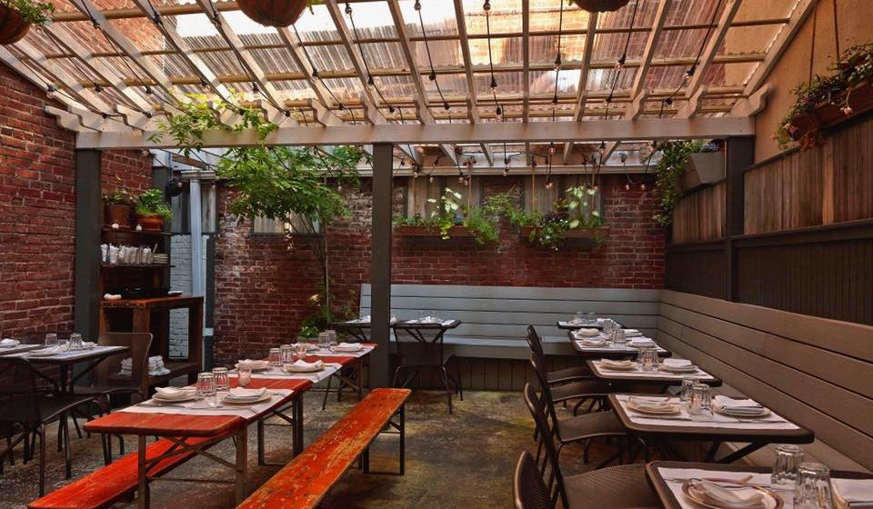 17 Bars Restaurants With The Best Outdoor Seating In